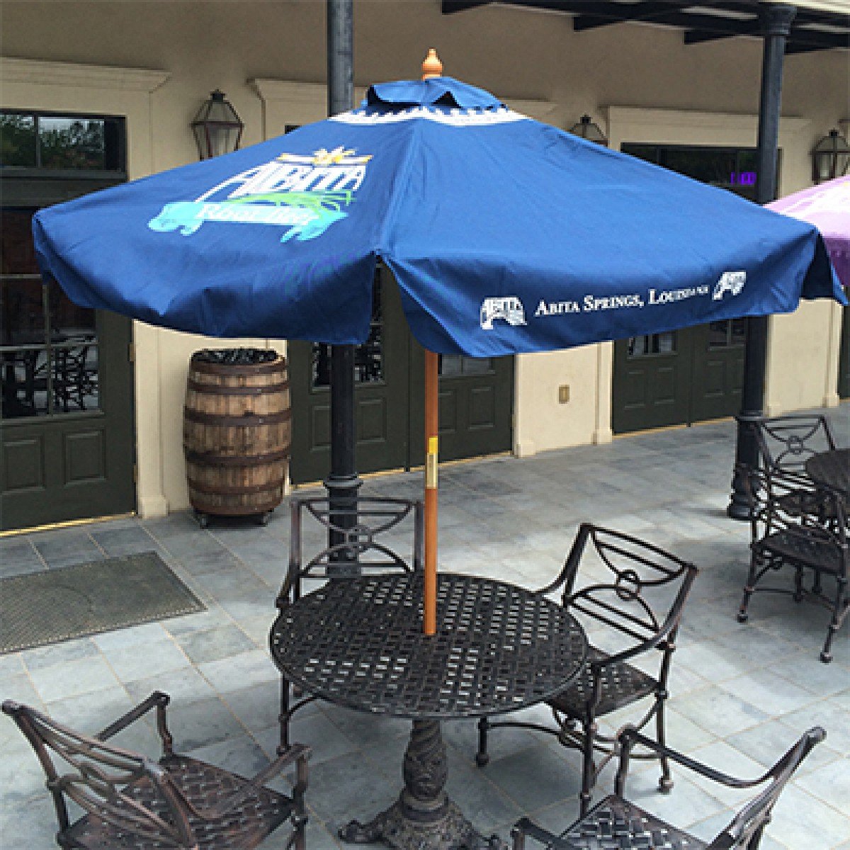 Summer Kitchen Omaha: Root Beer Patio Umbrella