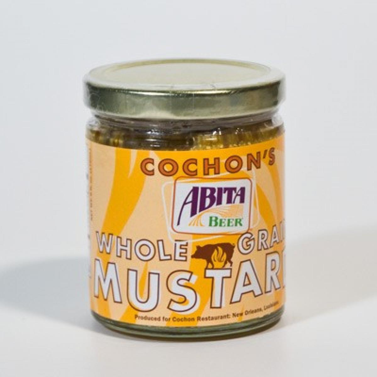 Cochon Whole Grain Mustard Abita Shop Abita Beer