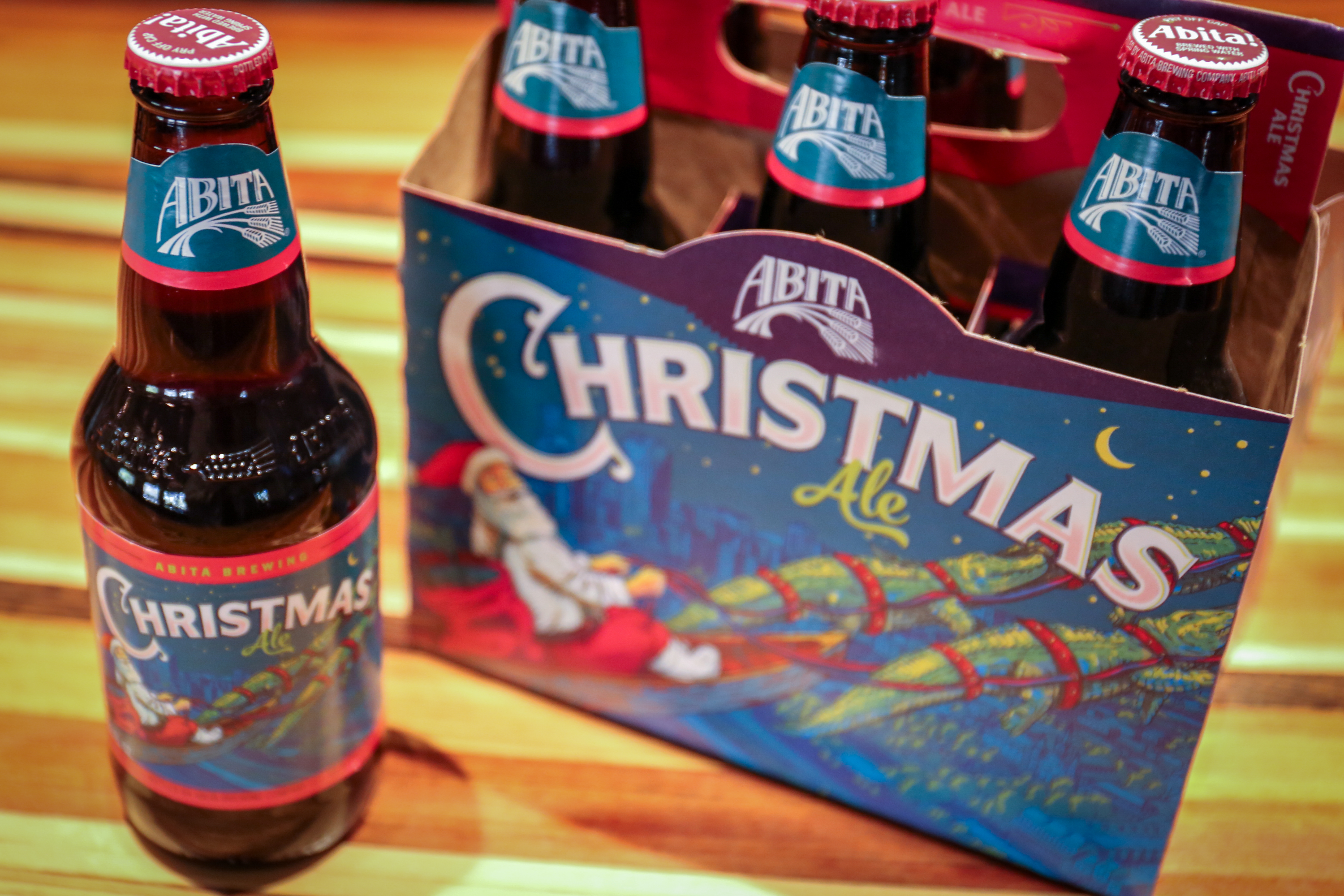 2 on our list of 12 ways to spread abita christmas cheer is our christmas ale every year our recipe changes and this years brew is a brown ale that is - Christmas Ale Recipe